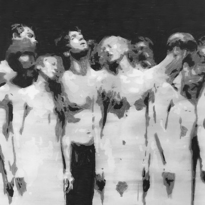 The passion (5) (after Pina Bausch)