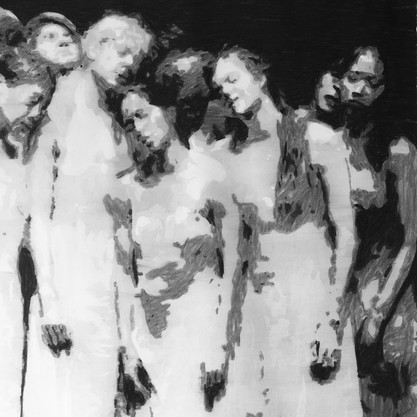 The passion (8) (after Pina Bausch)