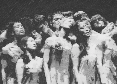 The Passion (12) (after Pina Bausch), 2021