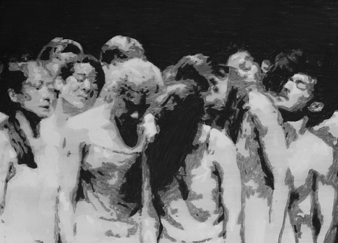 The Passion (7) (after Pina Bausch), 2020