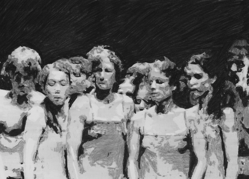 The Passion (10) (after Pina Bausch), 2021