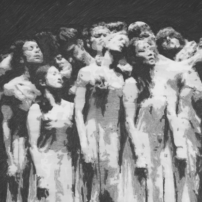 The Passion (12) (after Pina Bausch)