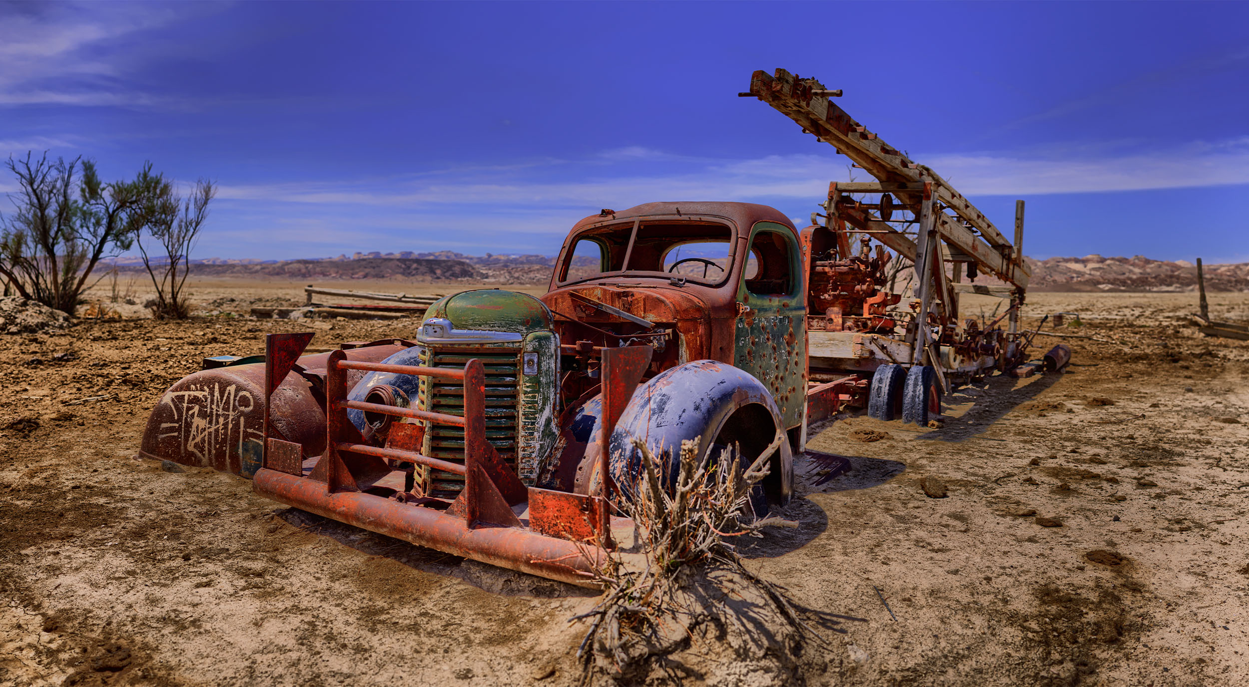 Rusted Truck #3
