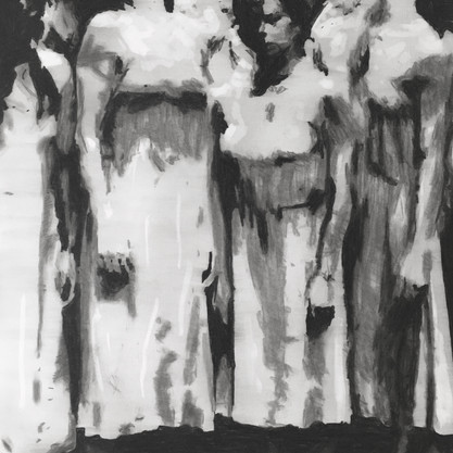 The passion (6) (after Pina Bausch)