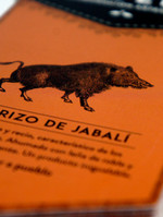Etiqueta Chorizo de Jabalí