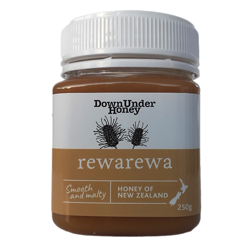 Rewarewa bush honey 250g