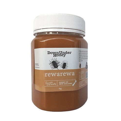 Rewarewa bush honey 1kg