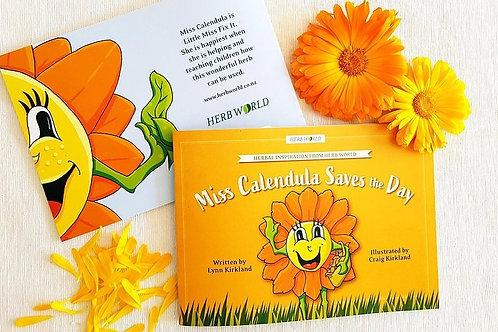 Miss Calendula Saves the Day - a Herb World book