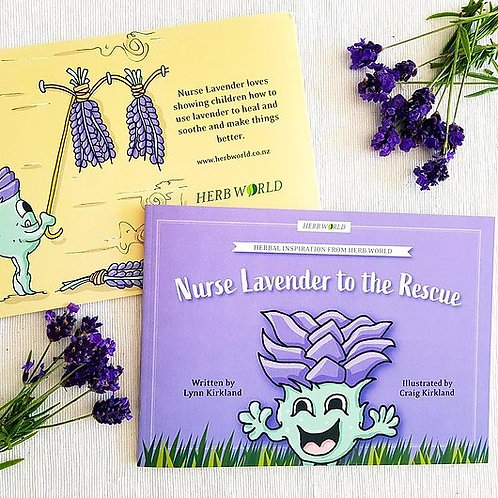 Nurse Lavender to the Rescue -  a Herb World Book