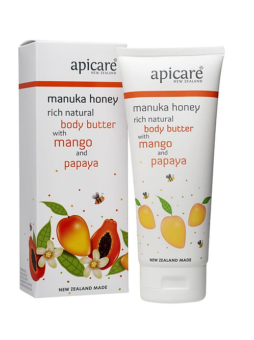 Apicare Mango & Papaya Body Butter 200g
