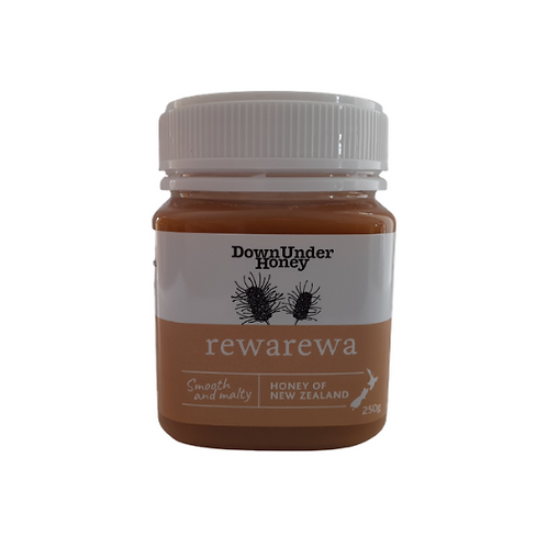 Rewarewa bush honey 250g
