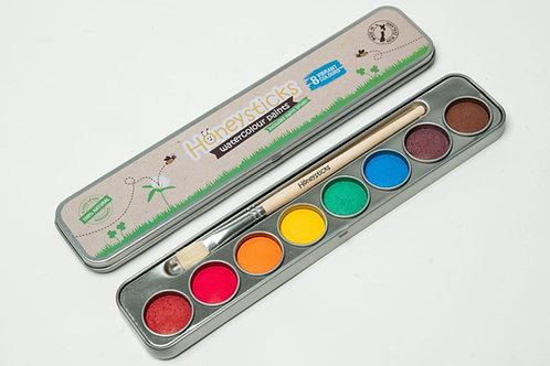 Honeysticks Natural Watercolour Paints - 8 colours