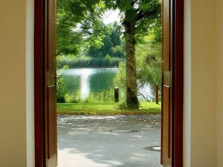 Throw open your door