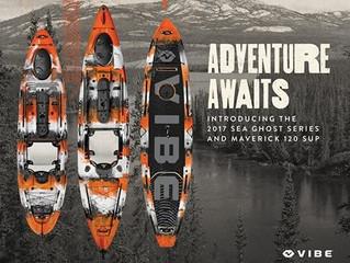 Vibe Kayaks 2017 Line