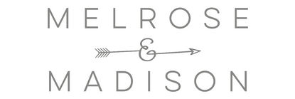 Women's boutique, Melrose & Madison logo.