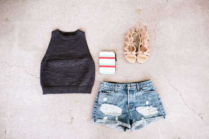 Shorts X Crop Top