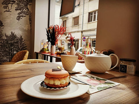 Macaron_mousse_légère_fleur_d'oranger_