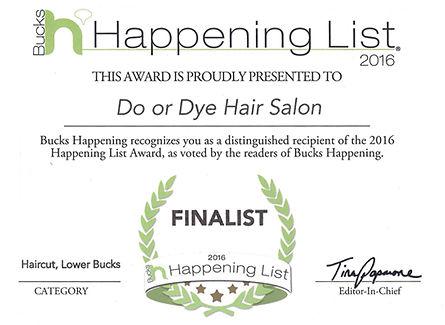 2016 Finalist Haircut