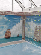 Completed using our flagship Cristallo Micro Tile Collection