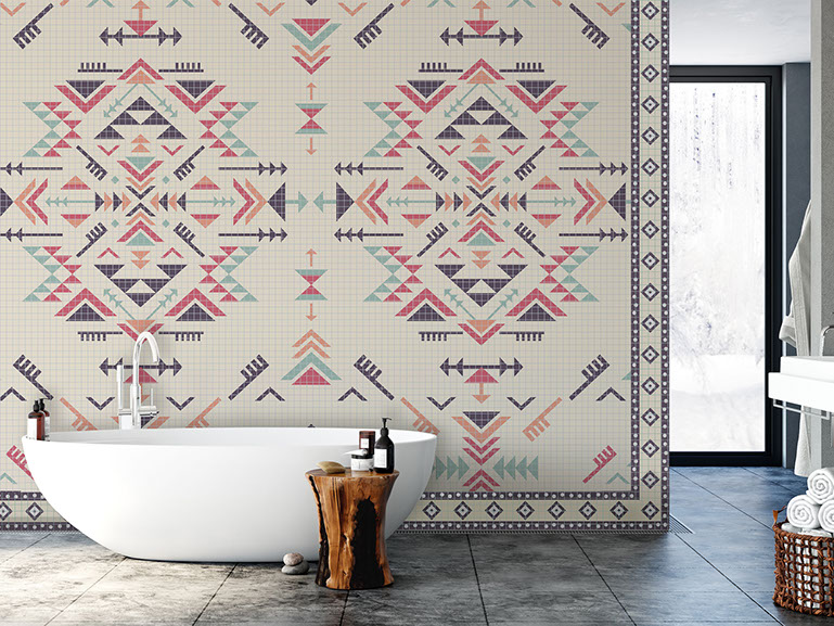 bathroomnativeamericanmosaic