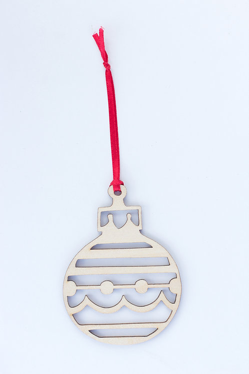 6005 - Christmas Ornament