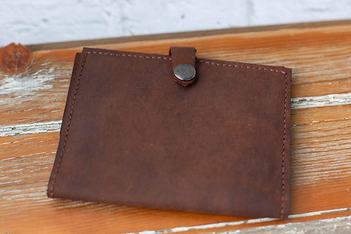 8001 - Leather Passport Wallet