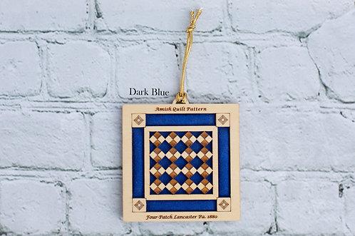 4036 - Quilt Ornament, Four Patch