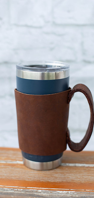 8002 - Leather Yeti Mug Handle