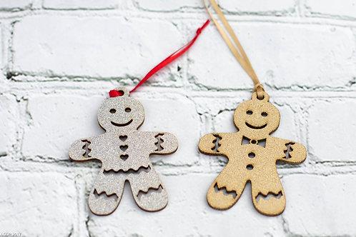 6005 - Christmas Ornament Gingerbread men