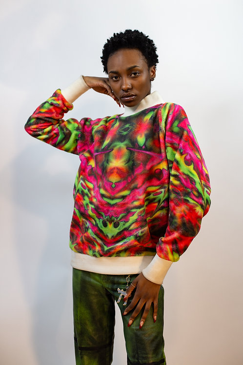 Original Artwork Psychedelic Sweatshirt