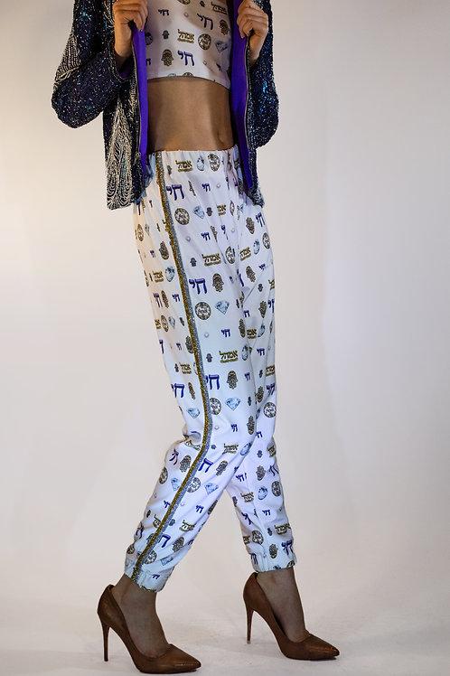 Chai Print Sweatpants