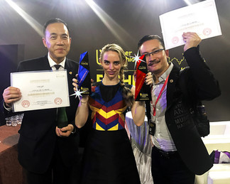 Liber China International Fashion Week presented me with 2 prestigious awards:  the Autumn 2017 Glob