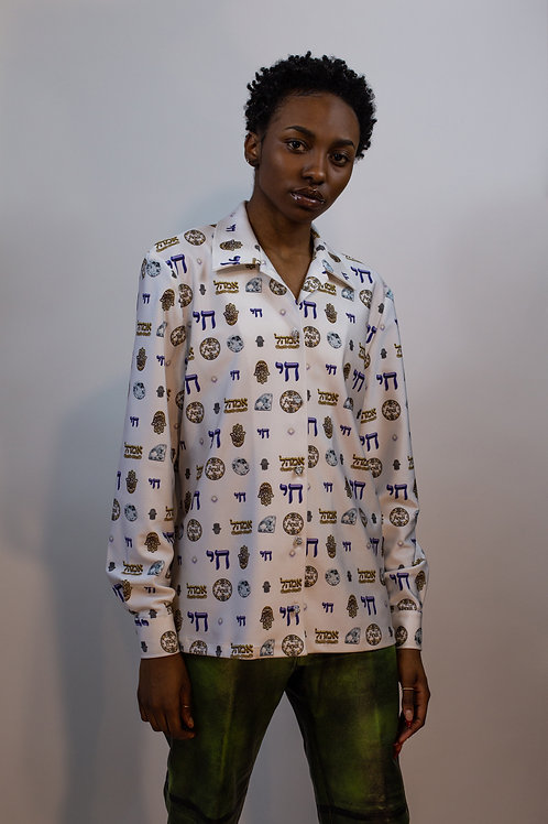Chai Original Print Button Down
