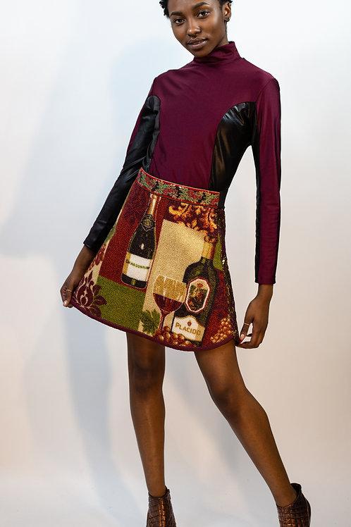 Wine Carpet Skirt