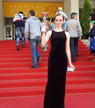 thrilled to have been awarded Le' grand Prix d'arte Contemporanea de Festival Cannes 2016!
