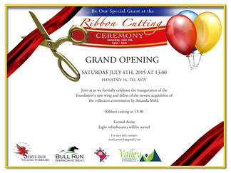 Honored to be a part of this ribbon cutting ceremony celebrating the grand opening of the AMSF found