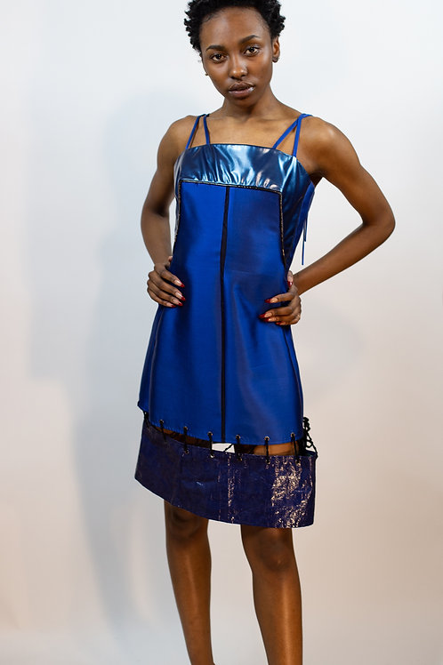 Blue Tarp Suspension Dress