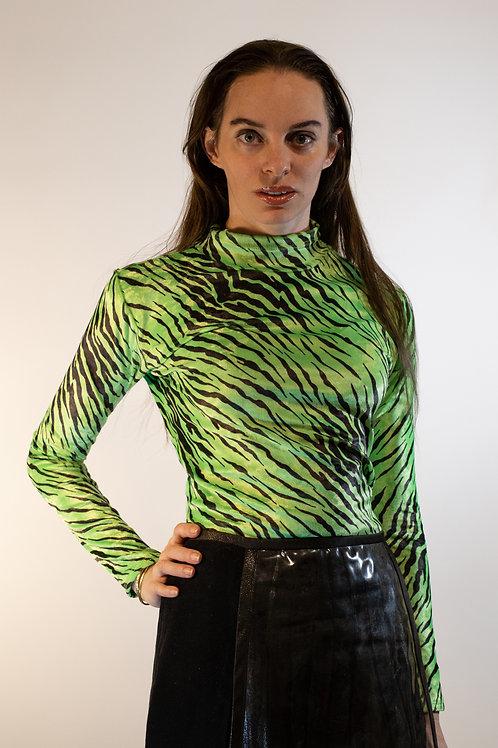 Green Zebra Top