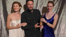 Art collector Meir Cohen from the Monaco Royal Museum and his wife Galya Solodovnikova Cohen at the