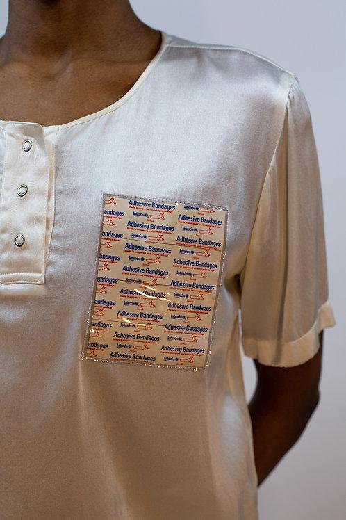 Silk Bandage Shirt