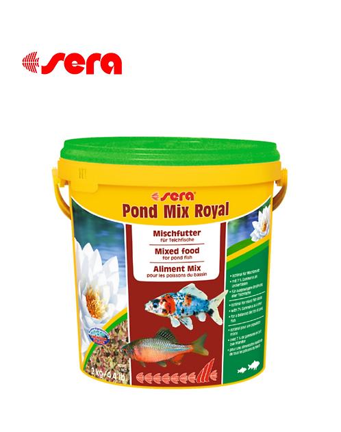 מזון לדגי בריכות SERA Pond Mix Royal 10L