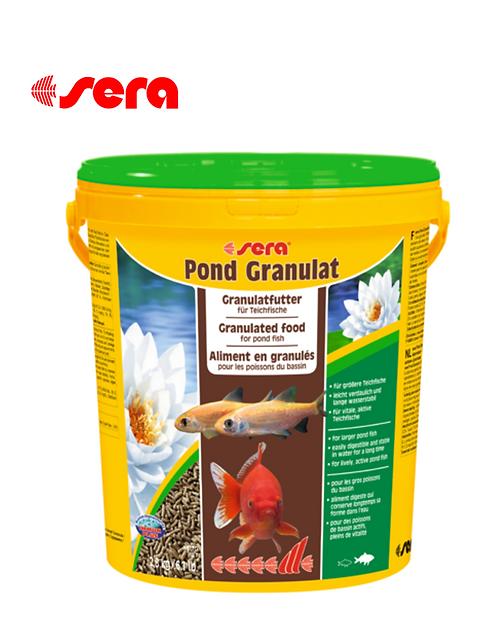 מזון לדגי בריכות SERA Pond Granulat 20L