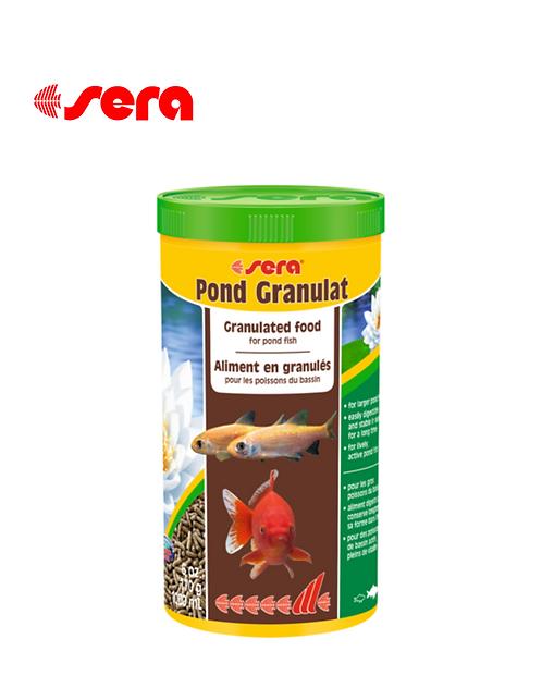 מזון לדגי בריכות SERA Pond Granulat 1L