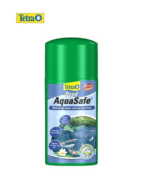 תוסף אנטי כלור - TETRA POND AQUASAFE 250ml