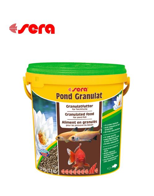 מזון לדגי בריכות SERA Pond Granulat 10L