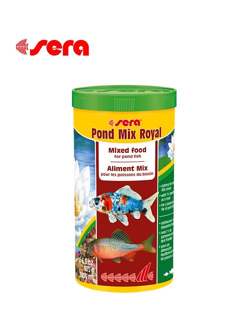 מזון לדגי בריכות SERA Pond Mix Royal 1L