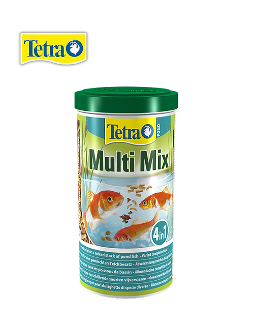 מזון מיקס לדגי בריכות Tetra Pond Multi Mix 1L