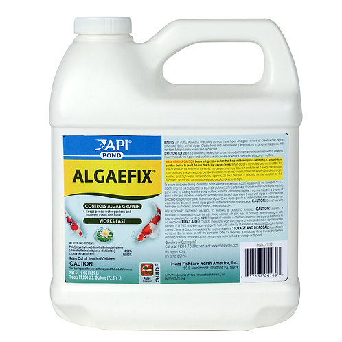 חומר נגד אצות POND ALGAEFIX 1.89L