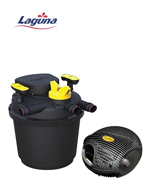 סט סינון לבריכה עד 1500 ליטר -משאבה Laguna 2200 + פילטר Laguna Pressure 3000
