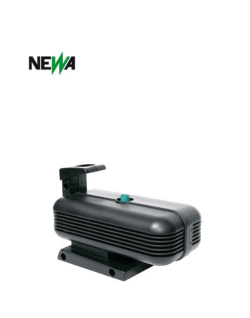 משאבת מים למזרקה NEWA FONTANA advance 1200